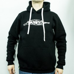 SMOKERS WEAR LOGO HOODIE BLACK
